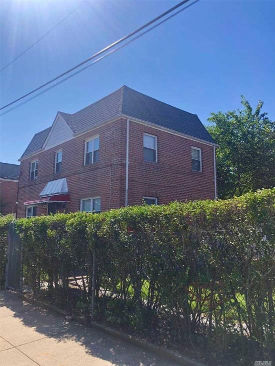 Good Location! Nice 2nd Floor Apartment In House, Large LR/DR, 2 Bedrooms 2 Full Bathrooms With All New Renovation. P.S. 173 Fresh Meadows, J.H.S. 216 George Ryan, Francis Lewis High School. Close To All, Ready For Occupancy.