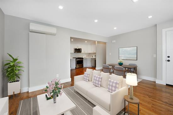 Newly Renovated 2 Family situated in the quiet and sought after Island Section of Jersey City. First unit is a duplex with hardwood floors throughout, 2 full bathrooms, garage and private backyard. Both units have new modern bathrooms and kitchens with granite counter-tops and stainless steel appliances. Close to Journal Square Path for NYC commuters, shops and restaurants.