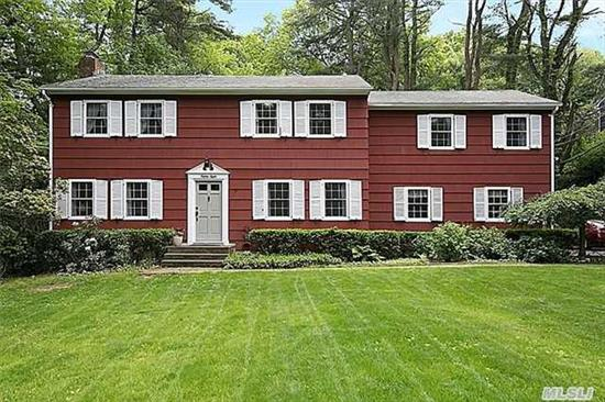 Expanded To Perfection, This Spacious Center Colonial Now Has A Sunny Great Room With Custom Built-Ins, A Gourmet Kitchen With High End Appliances And Granite Countertops, Five Ample Bedrooms, Including One Especially Large Suite With An Adjacent Loft/Study And A Back Staircase To The Mudroom And Kitchen. So Much More Than One Would Expect To Find In This Price Range!