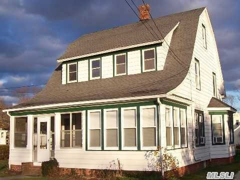 Town Of Brookhaven Property Class 220 Duplex. Classic Cape Cod On Large Corner Lot South Of Main Street W/Det Gar. Close To Town & Creek. Legal 2 Family - All Paperwork In Place!