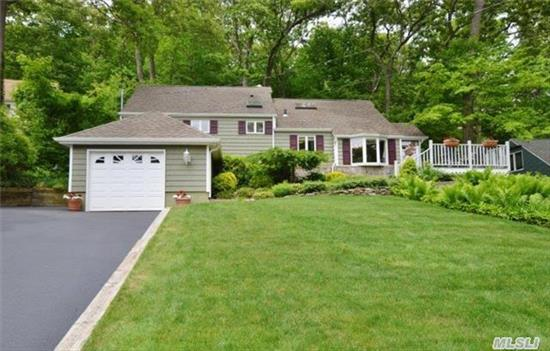 Meticulously Maintained Country Charmer On Quiet Cul-De-Sac In The West Hills Section Of Melville. This 4 Bedroom, 2 Bath Home Is A Lovely Retreat, Yet Conveniently Located To Shopping, Dining, And Transporation. New Roof, Hvac System, Updated Appliances, New Bath, Huge Den With Wall Of Windows And More. Half Hollow Hills Sd.#5.