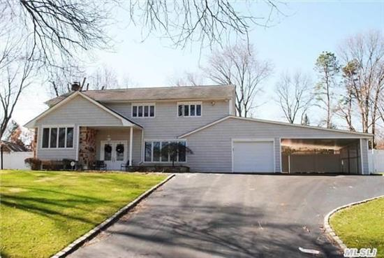 Beautiful Colonial Splanch Features Updated Roof, Windows, Siding, Cac, Baths, Kitchen W/ Granite & Ss Appliances. Hardwood Floors Throughout. Magnificent Property W/ In Ground Heated Vinyl Pool, Flat Usable Property, Cul De Sac!!!!
