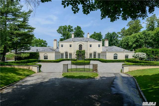 Dramatic Price Reduction Creating Incredible Value For 6 Acre Waterfront Dream! Approximately 6-Acres On Oyster Bay Harbor. Every Amenity - Pool, Pool House/Cottage, All-Weather Tennis Court. Spectacular Master Suite!