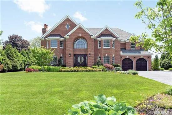 A Rare Opportunity To Own A One-Of-A-Kind Custom Haven With Incredible Details Hand Picked By The Owners In Collaboration With Their Designer And Personal Architect.Be Enveloped By The Sophisticated Ambiance From The Moment You Enter The Awe-Inspiring Foyer And The Winding Staircase.This Colonial Has Been Executed To Perfection With The Highest Quality Design And Fixtures.