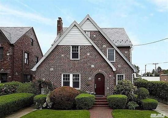 Stunning English Tudor/Gracious Living Room W/Wbfp/Formal Dining Room/Eat-In Kitchen/3 Bedrooms/1.5 Baths/ 2 Car Garage/ Full Basement / Manicured Property/ Renovated Bath W/ Radiant Heat/ Wood Polished Floors/ Lead Glass Windows/ Convenient To Lirr/ Shops/ Restaurants/ Pool / Recreation Center / Houses Of Worship/ Schools/Total Taxes Include Village Taxes/