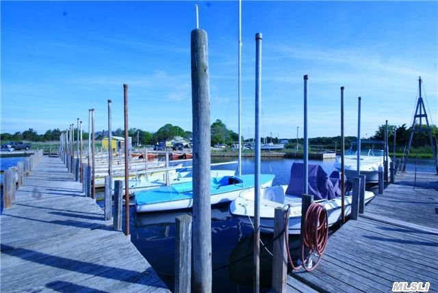 This East End Marina, Nestled In A Prime Location (Tuthill Cove), Contains Single Family Home & Detached Nautical Service Garage. Currently Offers 72 Boat Slips; 32 Slips On Floating Docks, 40 Slips In The Boat Basin & Launching Ramp. Marina Rental Boat & Tackle Shop In Operation For Over 80 Yrs. Site Is Fully Cleared & Leveled Maximizing Capacity For Winter Storage.