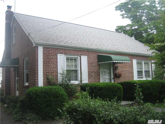 Perfect Starter Home! Well Built Beautifully Maintained Brick Cape W/ Very Long Private Driveway To Detached Garage,  Lovely,  Private Landscaped Yard,  Brand New Never Used Full Bath,  Hardwood Floors , Updated Windows,  Good Storage.Enjoy Glen Cove's Private Beaches,  18 Hole Golf Course,  Parks,  Library, Terrific Restaurants & Shopping.