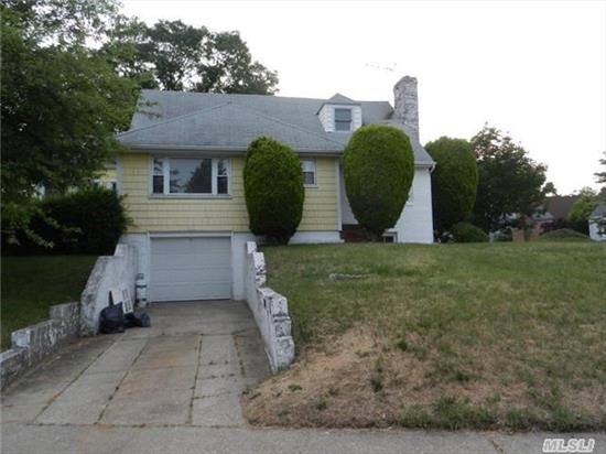 Beautiful Cape Home, Updated Kitchen Incorporated With Stainless Steel Appliances, Large Bedrooms, Renovated Bathrooms, A Fireplace For When You'd Like To Spend Some Family-Quality Time! This House Has Everything You Need! Ready To Move In; Come See For Yourself!