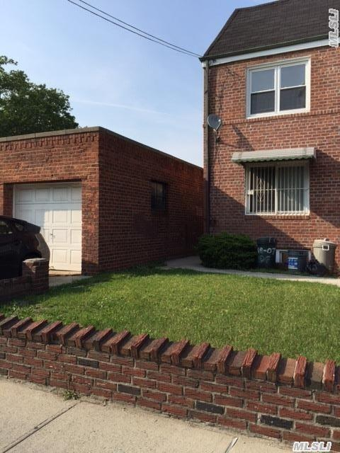 2 Family House ,  Excellent Condition ,  With Garage And Private Driveway.