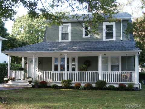 Go Green...Energy Efficient 3 Br, 1.5Bath Arts & Crafts Colonial Newly Renovated In 2008 Features Lr W/Beamed Ceiling & Wood-Burn'g Fplc, Fdr W/Corner Cabinet, Eik W/Custom Cabinets, Cork Flooring, Icestone Counters & Energy Efficient Ss Appliances, New Roof, Restored Orig. Hw Floors, Energy Star Windows & Doors, Dual Flush Toilets, Low Flow Moen Faucets, New Gas Hw Heater