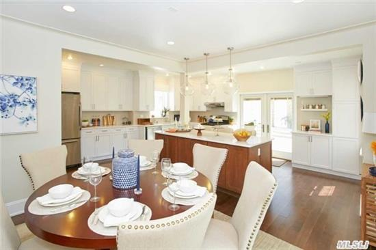 5 Bdrm Center Hall Colonial In The Heart Of Whitestone Features 3 Flrs W/ A Magnificient Renovated Kitchen W/ Center Island, Quartz Counter Tops, New Hrdwd Flrs, Fdr, Lr W/Fireplace, Office & Yrd, Garage & Pvt Drvwy. Close To Xpress Bus To Manhattan! Many More Extras! Too Much Too List!
