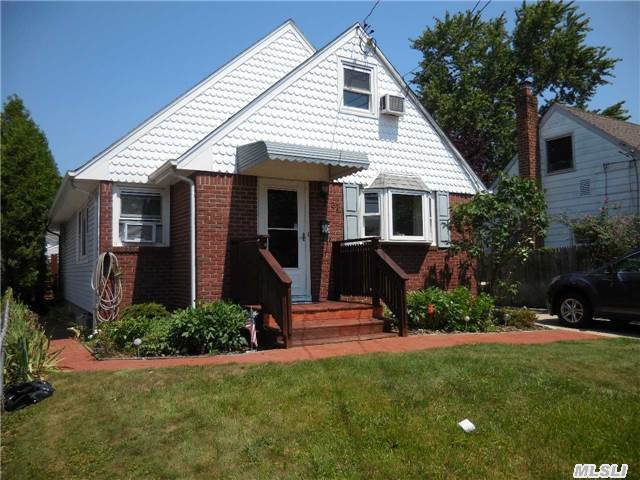 Charming Cape In Desired Plainedge School District. Wood Floors. Updated Roof, Siding, Windows. Full Basement With Wet Bar, Large Family Room And Possible 4th Bedrooms, Laundry Area With Slop Sink, Sep Hot Water Heater, 150Amp Electric. 1.5 Detached Garage With Extended Driveway. Fully Fenced Yard With Covered Patio/Deck.