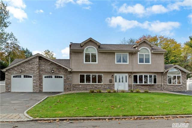 Magnif. Expanded/Updated Colonial Split, Loaded W/Revovations-Stone/Vnyl Sdg All Sides, Andersens, Roof, Trex Decking, Paver Walks/Patio, Drive, Baths, Hardwood, Doors, Mldgs/Trim, Elec/Heat/Cac-All Within Last 5 Years!! Custom Features, Great Setting And Property, Tax W/Basic Star $12530.