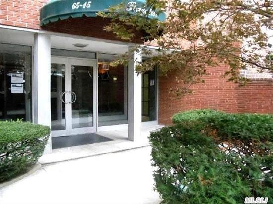 Sale May Be Subject To Terms And Conditions Of The The Offering Plan . Location!! Convenient Living Only 2 Blocks To # 7 Train Station On Roosevelt Ave,  Nearby The E & M Trains And The Lirr. This One Bedroom Sun Drenched Apartment Is On The 6th Floor Of An Elevator Building.Featuring All Hardwood Floors, Over Sized Living Room, Bedroom And Eat In Kitchen.