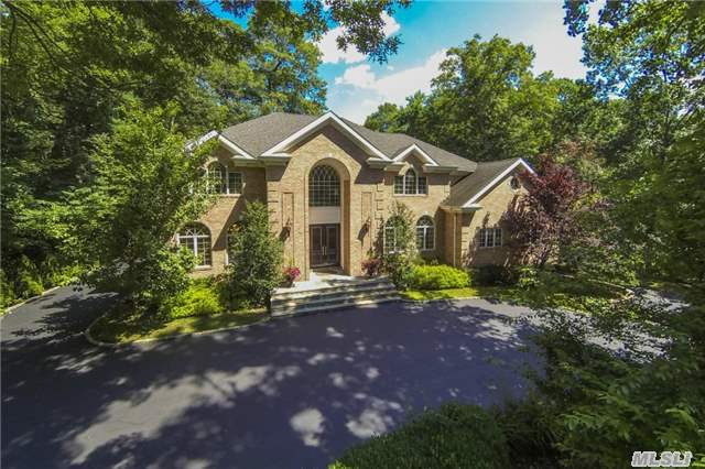 Custom Young Brick Colonial.6500 Square Ft Of Perfection.High Ceilings & Architectural Details Throughout Well Appointed Home.Mahogany Floors Guide You Through Grand Size Living Areas.Media Rmon Mn Fl . Chef's Dream Kitchen & Huge Great Room With Limestone Floor Looks Out Onto Country Club Property.Master St+ 3 Ensuite Br's.Guest Suite & Office On Mn. Rad Ht.2 Much 2 List