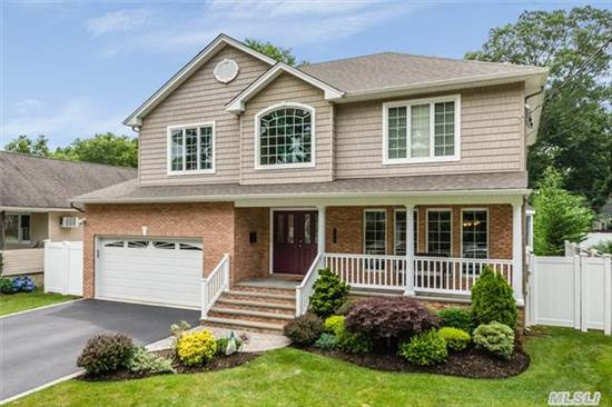 Recently Built Colonial With Nearly $200K In Upgrades! Upgraded Molding Package In Lr&Dr. Upgraded Kitchen Layout With Brkfst Bar In Addition To A Separate Eating Table With Tv Nook. Upgraded Family Room With Gas Fireplace And Custom Sliders. Upgraded One-Of-A-Kind Private & Serene Backyard With Pavers Galore. Truly Unique And Special Home.
