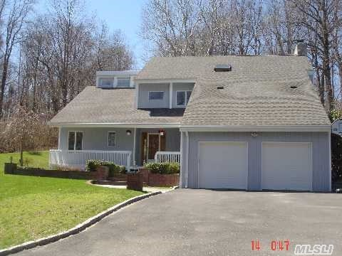 Totally Private Yet Close To Town. Open Layout. Bedroom With Full Bath On First Floor. Living Room Features Huge Atrium Window. Loft Overlooks Living Room. Granite & Cherry Cabinets In Kitchen. Huge Master Suite With Fireplace, Walk-In Closet, Whirlpool Bath