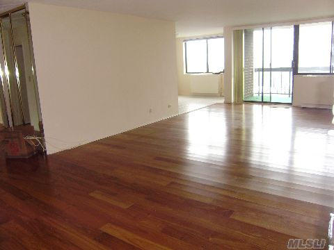 Motivated Seller!!--Make An Offer!!--Must See -One Of Largest 2 Bed, 2Bath In Complex 1310 Sq.Ft  - Great Great Water Bridge View- Quiet Corner Apt- Wood Floors-  Master Bath Was Expanded. Wall Can Easily Be Put Back To Enlarge Mstrbedrm--Immac.-Yr.Round World Class Swim-Fitness Center/ Tennis /Restaurant/Dry Cleaners/24 Hr Security, Conceirge-Doorman. Wood Floors.
