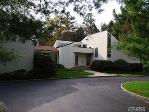 Perfectly Located Chotan  Contemporary On Secluded Cul De  Sac; Spacious Home With Open Floor Plan. Large Master Br.Suite. Leading To Deck + Heated Gunite Pool With Lighted Waterfall.Plus Newly Surfaced Tennis Court.Speciman Plantings Throughout.This Is Top Location In Old Westbury.Wheatley Schools.