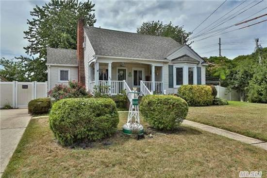A Remarkably Charming Cape With Much Potential. Enter A Relaxing Living Room W/Wood Burning Fireplace Which Opens Up To A Dining Area And Sliding Doors To A Wood Deck. Enjoy A Peaceful Yard With Fish Pond And Garden. Igs, Shed, Front Porch