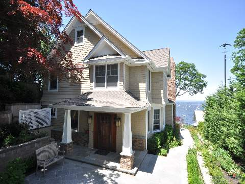 No Jitney Needed!Hamptons Style Arts & Crafts Home W/Panoramic Views Of Li Sound,Steps To Private Beach, Swimming & Boating. Just 45 Min From Nyc.Totally Rebuilt In 2010 W/The Finest Quality. Open Floor Plans Allow Views Clear To Ct From Every Window.Lush Landscap'g,Cac,Cen.Vac,Igs,Sep.Guest Studio/Office. Seeing Is Believing!