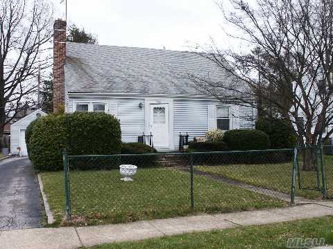 Don't Rent It, Own It...Begin With This! This 4Br Cape Is Priced To Sell. It Features On The 1st Floor: A Living Room, Eat-In-Kitchen, 2 Bedrooms And Full Bath. The 2nd Floor Features 2 Very Large Bedrooms. Finished Basement With Utility & Laundry Area, & Cedar Closet. Large Covered Porch Off Eik.