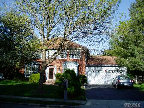 Immaculately Maintained Center Hall Colonial, Huge Master Suite With Dressing Area And Full Bath, Cherry Kitchen W/Granite Countertops, Hardwood Floors, Full Bsmt And 2 Car Garage. Just Perfect!