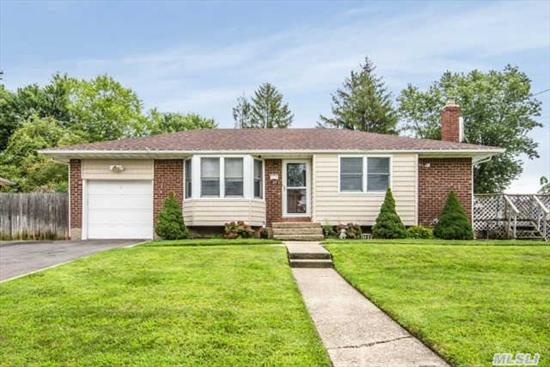 Diamond 3 Bedroom Ranch In Desirable Burlington Section ! Beautifully Renovated Kitchen, All New Baths, Hardwood Floors , Full Finished Basement. Recently Updated .Cac, , Gas Heat,  New Vinly Siding , Roof . Great Yard For Entertaining. Must See