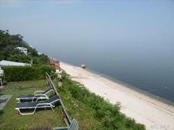 Panoramic Waterfront Views Of Long Island Sound As Far As The Eye Can See With Key West Sunrises & Sunsets.  Sleeps 6 Adults Comfortably. Updated Electricity & Replacement Roof, Water Heater, Walls, Ceilings, Floors, Siding, Countertops, Oven, Refrigerator,Washer. Summer Community Open From Apr To Nov.