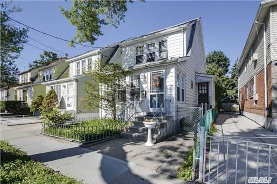 One Family Detached Colonial In Fresh Meadows, Queens. With One Car Detached Garage & Private Back Yard. 4 Bedroom 2 Full Bath And Full Finished Basement. Large Eat-In-Kitchen With Updated Appliances. Large Open Layout Living&Dining Room. Owner Relocating, Won't Last.