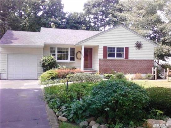Turn Key 3 Bedroom Lovely Ranch Warm And Inviting Eat In Kitchen Livingroom Family Room With Pellet Fire Place Very Private Park Like Yard A Wonderful Place To Call Home