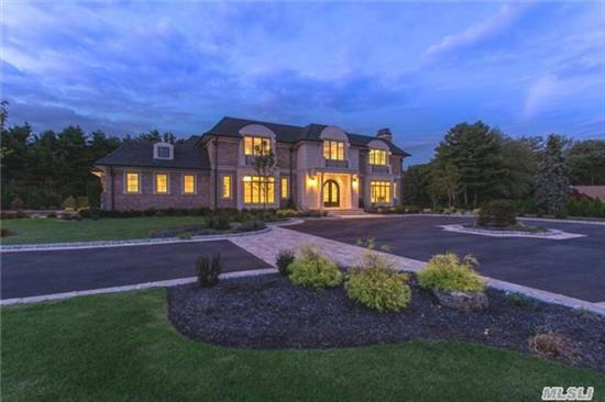 New Construction. Approx. 11, 000 Sq. Ft. Which Includes A 4000 Sq Ft Lower Level. This Luxurious Brick & Stone Manor Home Features 7 Bedrooms And 6.5 Designer Baths. Extra Features Include: Elevator, Smart Home Sys, Radiant Heated Flooring, State Of The Art Movie Theater, Gym, Wine Cellar, Travertine Patios And Ig Heated Gunite Pool. Jericho Schools.