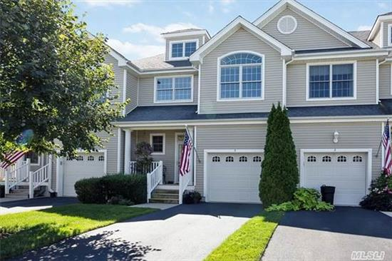 Beautiful Poquott Model With Updated Granite Kitchen With Ss Appliances, Updated Bathrooms, Mbr On Main Flr. With Mbth W/Jacuzzi & Shower, Walk-In Closet. Updated Laundry Area. Tile Hallway, Hw Lr & Dr, Upstrs Loft And Guest Br & Bth Plus Bonus Room. Community Amenties Include Club House, Gym, Indoor & Outdoor Pools, Bocce, Tennis, Putting, Billiards, Card Room & Library