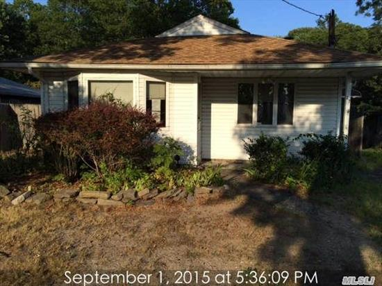 Affordable Three Bedroom One Bath Ranch On A Low Traffic Street With A Large Rear Yard And Screened In Patio. Updated Roof , Vinyl Siding And Windows.