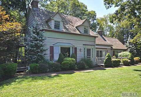 Picturesque Antique Home With Breathtaking Waterviews Of Long Island Sound. On A Clear Day, You Can See The Shores Of Connecticut From This Beautifully Preserved Home Built During Colonial Days. Situated On A Spectacular Acre Of Property Featuring Beautiful Perennial Gardens And Mature Trees, Extraordinary Home Features A Separate 3 Level Barn W/2 Car Garage.