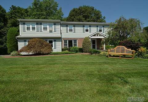 Just Reduced!!Beautiful Colonial With A Spacious Open Floor Plan. Full Finished Basement. Brand New Roof. Waterviews!! Private Access To An Exclusive Sandy Beach. Huntington Bay And Long Island Sound.  Mooring. Separate Office/Guest Suite. Total Taxes W/ Star $18,133