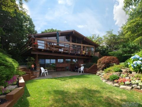 Views From Lr/Dr/Eik/ Fam Rm. Pvt/ Low Maint. Prop- Estab Gardens. Dock & Beech Assoc. Solid, Well Maintained. Built By Archi/Builder For Self. 2012 Taxes With Star $22056.83 + Village. Wincoma Annual Dues Also Apply ($600)