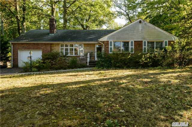Beautiful Brick Expanded Ranch On Half Acre. Features Living Room W/Fireplace, Den W/Fireplace And Vaulted Ceiling, Formal Dining Room, Eat-In Kitchen, 3 Bedrooms, 2.5 Baths, And Hardwood Floors Throughout. Full Attic, Full Basement, Cac. New Heating System And Hot Water Heater!