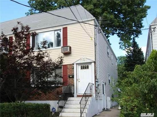 2 Family Home W 5 Bedrooms/3 Full Baths. Hw Floors, Updated Gas Heat And Hwh 2007, Full Finished Bsmt, Private Yard, Walk To Northern Blvd, Close To Lirr, Transportation, Shopping, Major Highways. Excellent School District #26! Showing 1st Floor And Bsmt Only (2nd Flr Same As 1st). All Information Deemed Accurate But Must Be Verified By Buyer.