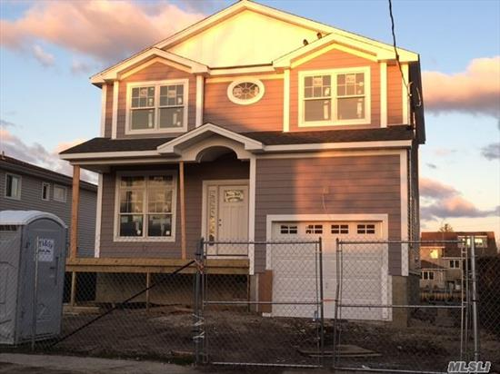 New Construction 2250Sq Ft House!! Water Front! Master Bdrm Suite W 12Ft Sliders Out To Deck, 3T Bedrooms, Open Floor Concept Living Area With 9Ft Ceilings, Glass Sliders In Back Of House Overlooking Bay. Large Garage.. Vinyl Bulkhead.!! Energy Star Certified. Still Time To Pick Finishes!
