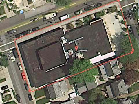 One Of A Kind Property On A 200 X 88 Lot In The Heart Of Bayside. Its Situated On A Busy Street Off Bell Blvd. Nursary School 5/5 Lease, And 2nd Church Occupied As Tenants.