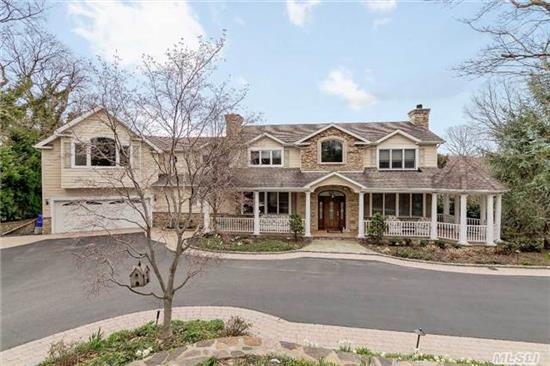 Spectacular Entertainers Paradise! Too Much To List! Secluded Acre Plus With Ig Pool, Cabana, Sports Court, Entertainment Wing Over Garage W/Bar. Huge Finished Basement With Gym, Office, Au Paire Suite W/Egressed Windows. A Must See!