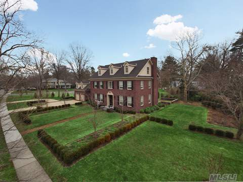 Classic Brick Colonial Blends The Beautiful Architecture Of The Past With Modern-Day Comfort And Luxury.  Large, Light-Filled Rooms Flow Together In A Floor Plan That Is Perfect For Elegant Entertaining And Ideal For Everyday Living. The House Is Filled With Traditional Details. This Home Offers Chef's Kitchen And Luxurious Spa Baths. Res Fire Sprinkler System, Cntrl Vac,