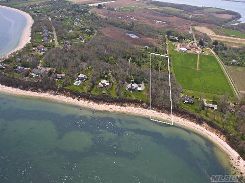 Gorgeous Vacant 5.8 Acres Located On A Bluff Overlooking Li Sound - 195 Ft. On The Sound.  Build Your Dream Home Or Family Compound.