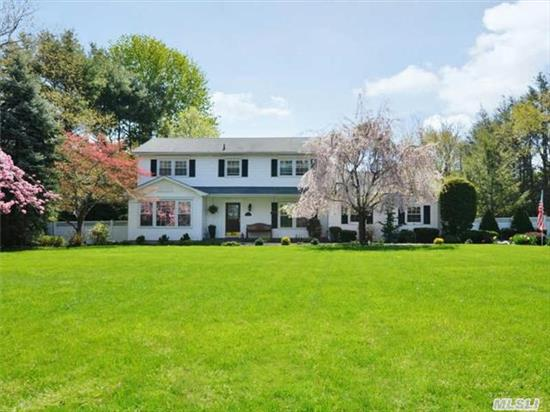 Stunning Ch Colonial On A Quiet Tree Lined Cul De Sac. This Home Boasts An Updated Eik, W/ Ss Appl., Updated Bths, Fr W/ Fp & Vaulted Ceilings, New Custom Millwork, Bright Sunroom, Gleaming Hw Flrs, Updated- Windows, Roof & Cac Unit. Country Club Yard W/ Ig Pool W/ New Liner, Pavers And Fence- Feel Like Your On Vacation In Your Own Home. Home Warranty Transferrable.