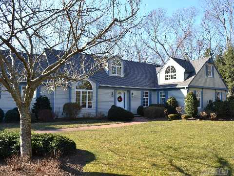 Sprawling 5 Br, 3.5 Ba Home On 470' Of Creekfront Property! This Beautiful Home On 3.1 Acres Has Both Creek And Golf Views. One Of A Kind!